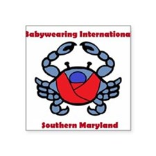 BWI Southern Maryland crab logo Sticker