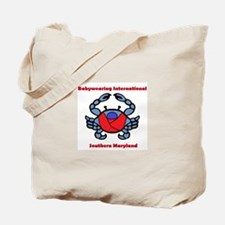 BWI Southern Maryland crab logo Tote Bag