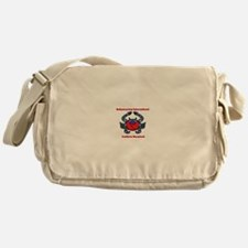 BWI Southern Maryland crab logo Messenger Bag