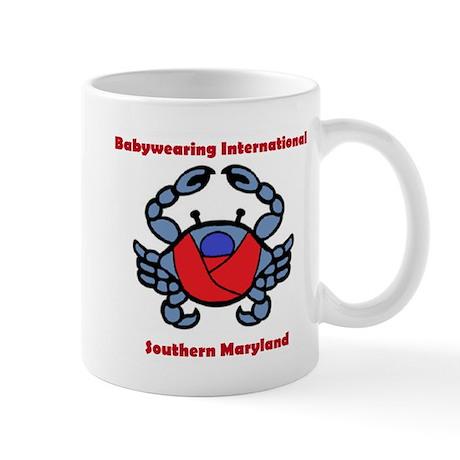 BWI Southern Maryland crab logo Mug
