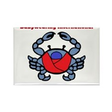 BWI Southern Maryland crab logo Rectangle Magnet