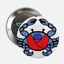 """BWI Southern Maryland crab logo 2.25"""" Button"""