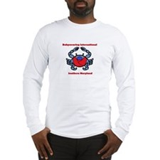 BWI Southern Maryland crab logo Long Sleeve T-Shir