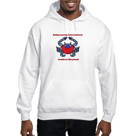 BWI Southern Maryland crab logo Hoodie