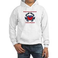 BWI Southern Maryland crab logo Hoodie