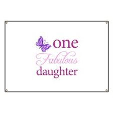 One Fabulous Daughter Banner