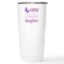 One Fabulous Daughter Travel Mug