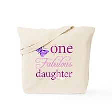 One Fabulous Daughter Tote Bag