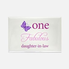 One Fabulous Daughter-In-Law Rectangle Magnet