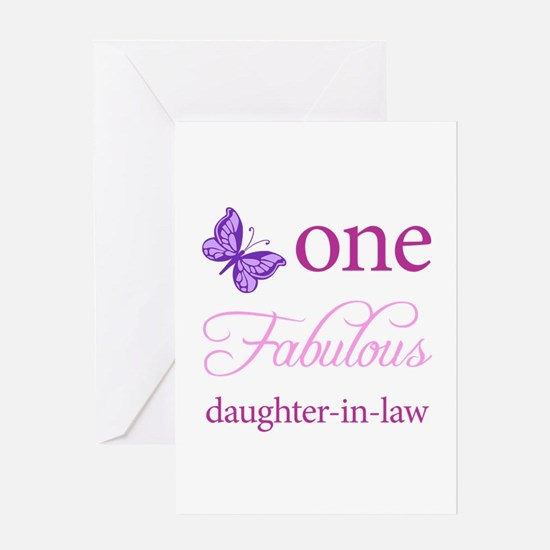 One Fabulous Daughter-In-Law Greeting Card