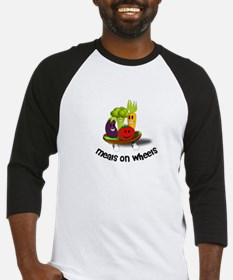 Funny Meals on Wheels Baseball Jersey