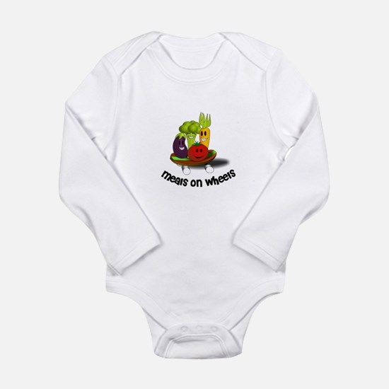 Funny Meals on Wheels Body Suit