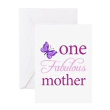 One Fabulous Mother Greeting Card