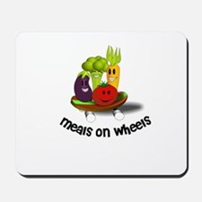 Funny Meals on Wheels Mousepad