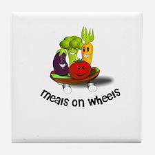 Funny Meals on Wheels Tile Coaster