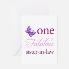 One Fabulous Sister-In-Law Greeting Card