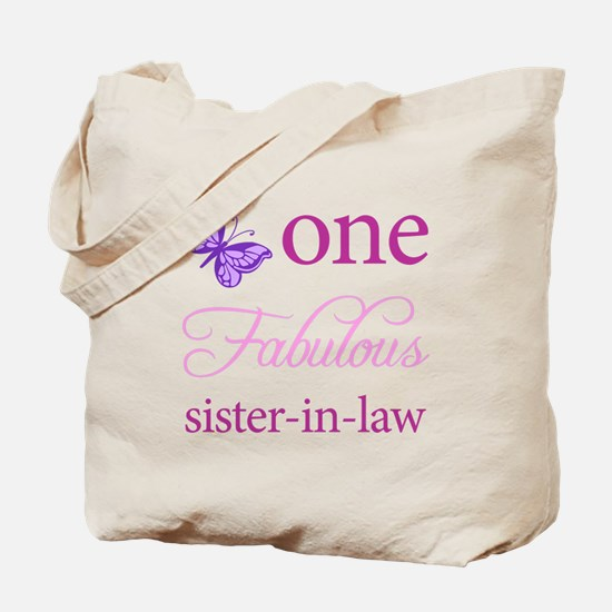 One Fabulous Sister-In-Law Tote Bag