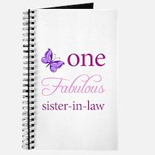 One Fabulous Sister-In-Law Journal