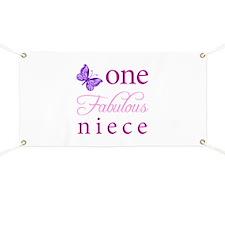 One Fabulous Niece Banner