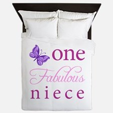 One Fabulous Niece Queen Duvet