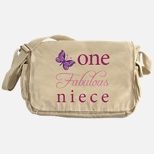 One Fabulous Niece Messenger Bag