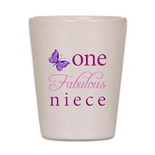 One Fabulous Niece Shot Glass