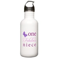 One Fabulous Niece Water Bottle