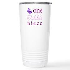 One Fabulous Niece Travel Mug