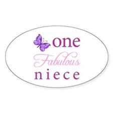One Fabulous Niece Decal