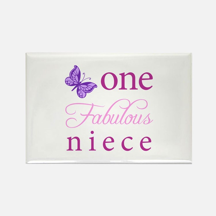 One Fabulous Niece Rectangle Magnet