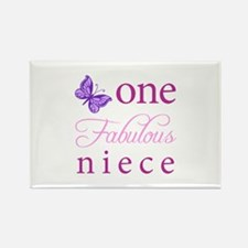 One Fabulous Niece Rectangle Magnet (10 pack)