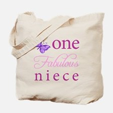 One Fabulous Niece Tote Bag