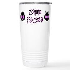 Zombie Princess Travel Mug