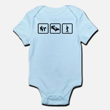 Clarinet Player Infant Bodysuit