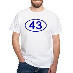 Number 43 Oval Premium Shirt