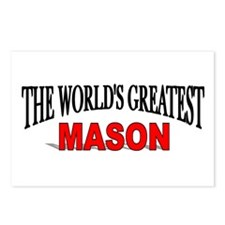 """The World's Greatest Mason"" Postcards (Package of"