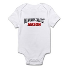 """The World's Greatest Mason"" Infant Bodysuit"
