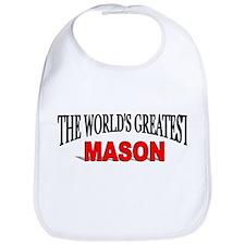 """The World's Greatest Mason"" Bib"