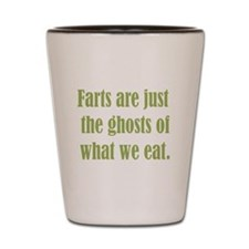 Farts are just the Ghosts Shot Glass
