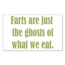 Farts are just the Ghosts Decal
