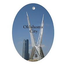 Oklahoma City Ornament (Oval)