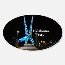 Oklahoma City Sticker (Oval)