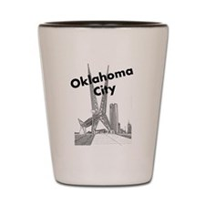 Oklahoma City Shot Glass