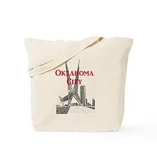 Oklahoma City Tote Bag