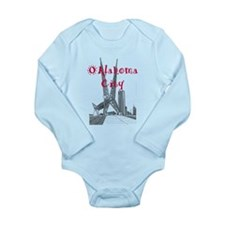 Oklahoma City Long Sleeve Infant Bodysuit