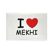 I love Mekhi Rectangle Magnet