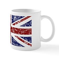 """""""Red Navy Union Jack"""" Mug"""