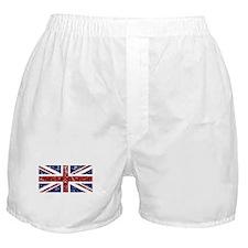 """Red Navy Union Jack"" Boxer Shorts"