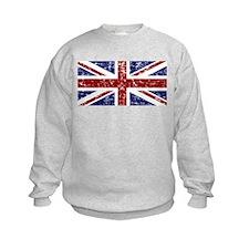 """Red Navy Union Jack"" Sweatshirt"