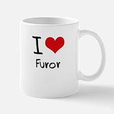 I Love Furor Mug